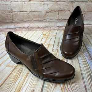 Clarks PARTRIDGE Leather Ankle Boots Booties Shoes